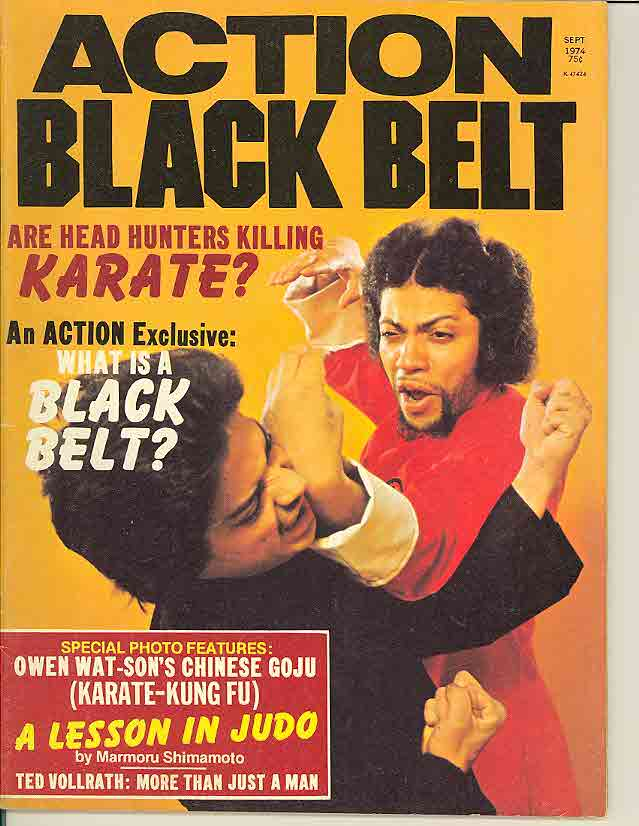 09/74 Action Black Belt