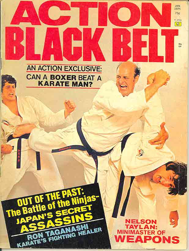 01/75 Action Black Belt