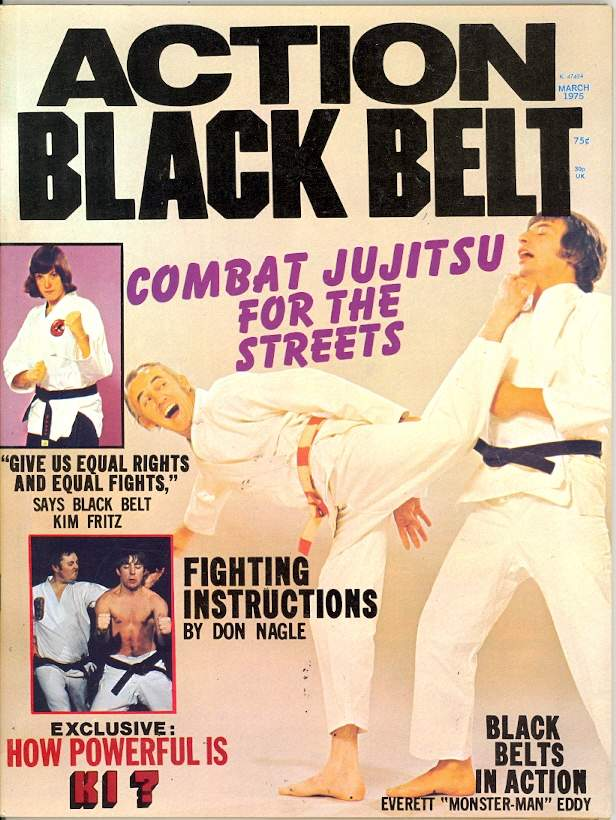 03/75 Action Black Belt