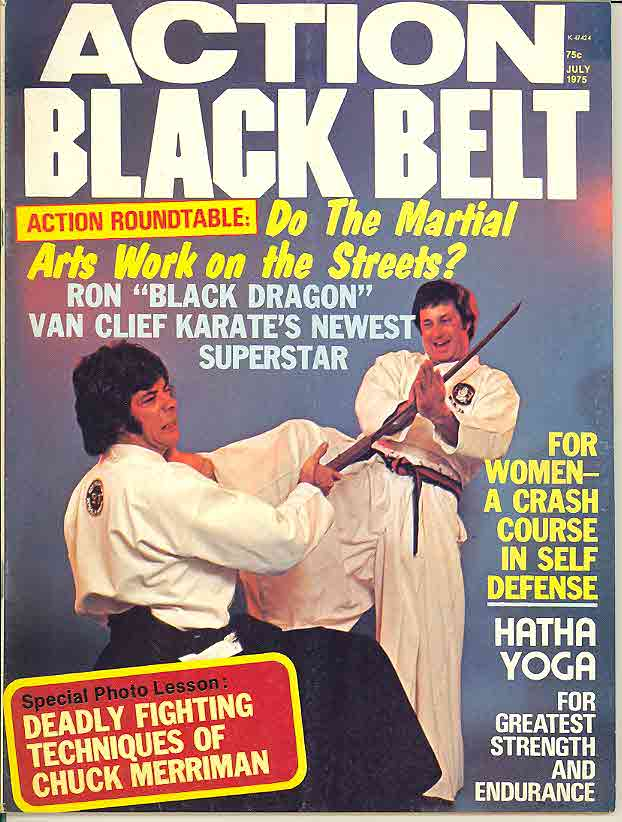 07/75 Action Black Belt