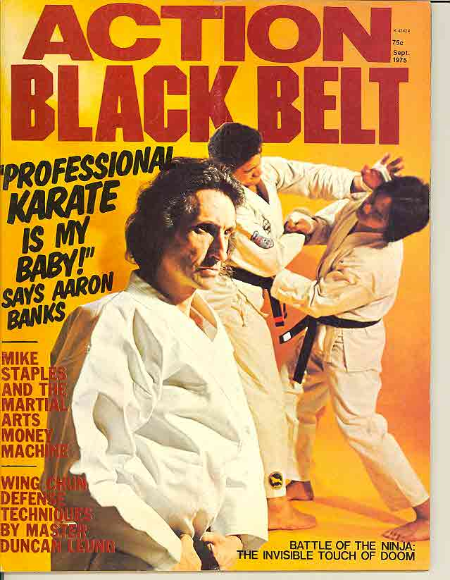 09/75 Action Black Belt