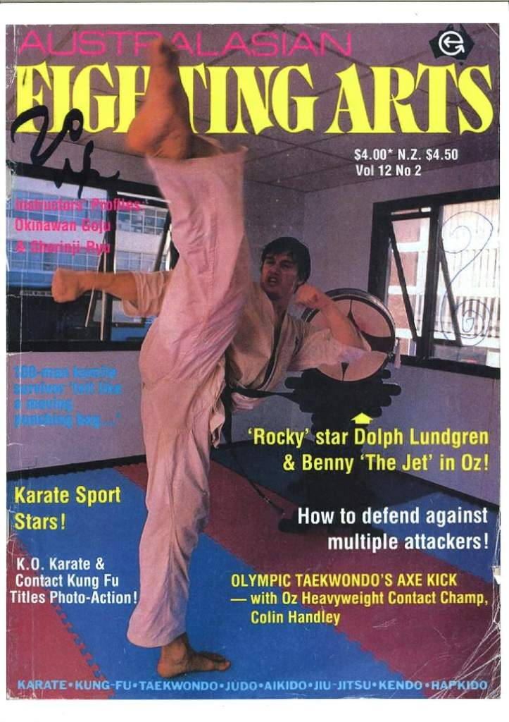 1989 Australasian Fighting Arts