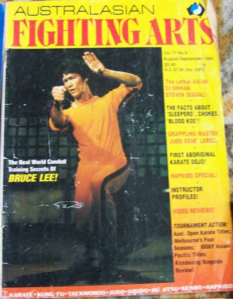 08/95 Australasian Fighting Arts
