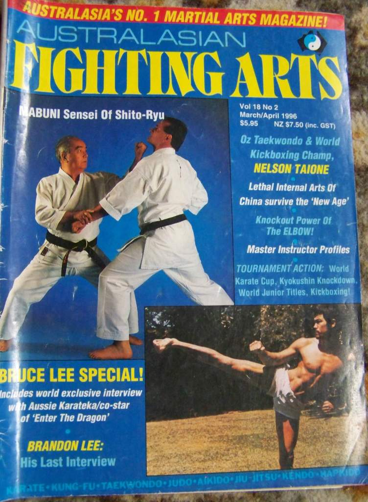 03/96 Australasian Fighting Arts