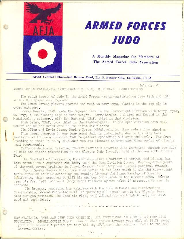 07/64 Armed Forces Judo Association