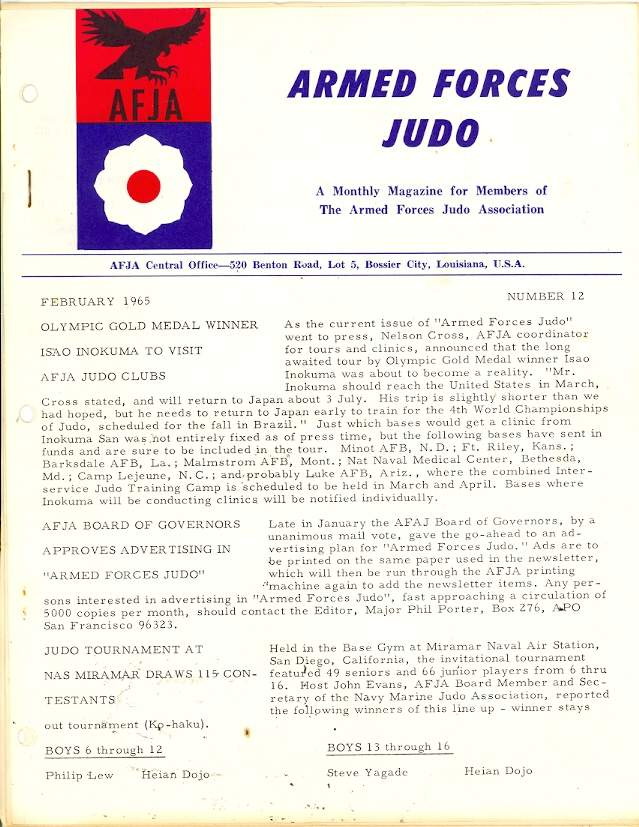 02/65 Armed Forces Judo Association