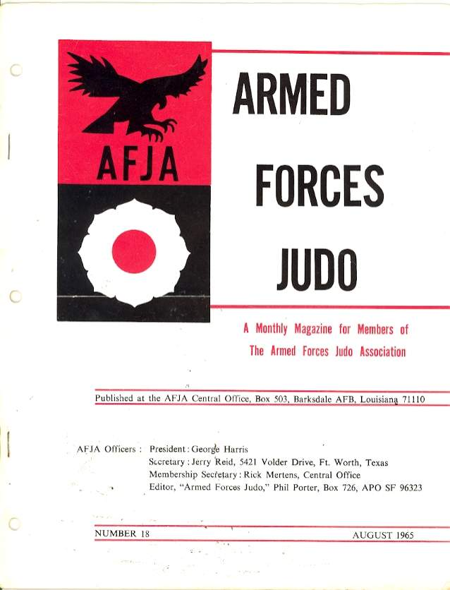 08/65 Armed Forces Judo Association
