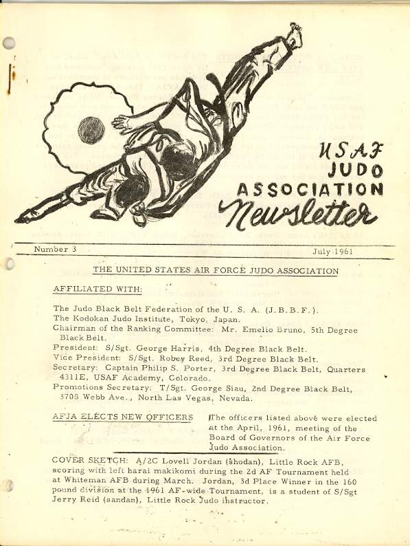 07/61 USAF Judo Association Newsletter