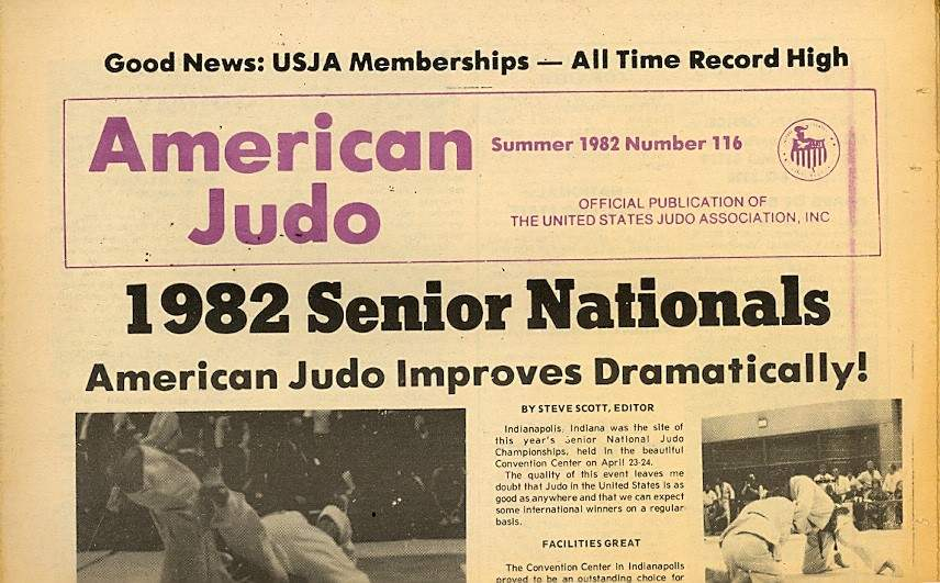 Summer 1982 American Judo Newspaper