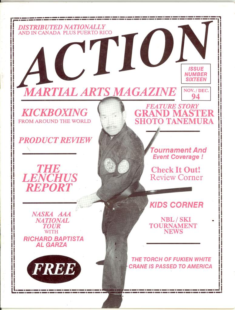 11/94 Action Martial Arts