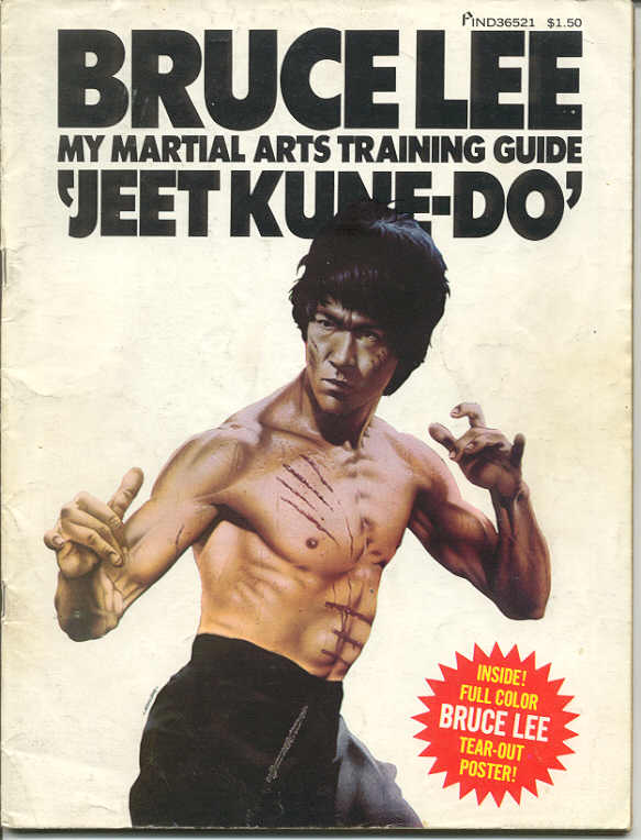 1974 Bruce Lee My Martial Arts Training Guide Jeet Kune