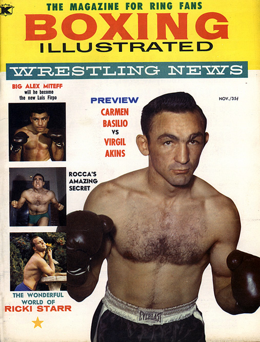 11/58 Boxing Illustrated