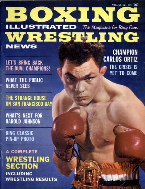 08/62 Boxing Illustrated