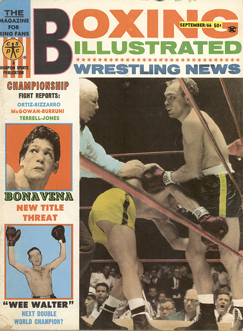 09/66 Boxing Illustrated