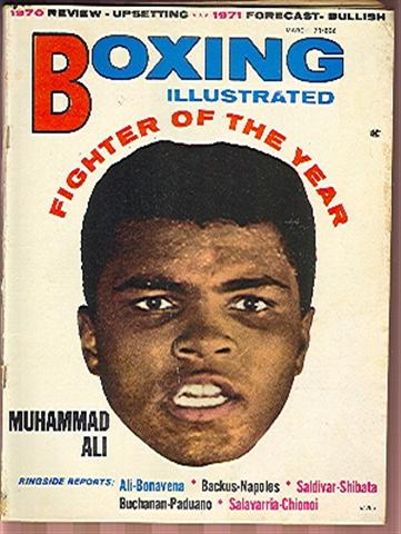 03/71 Boxing Illustrated