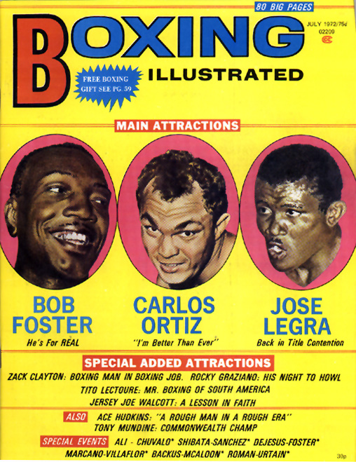 07/72 Boxing Illustrated