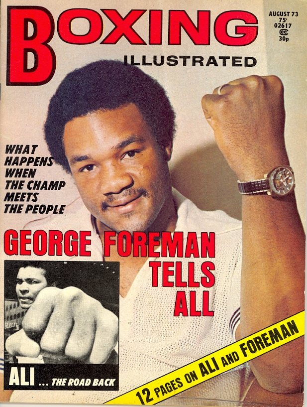 08/73 Boxing Illustrated