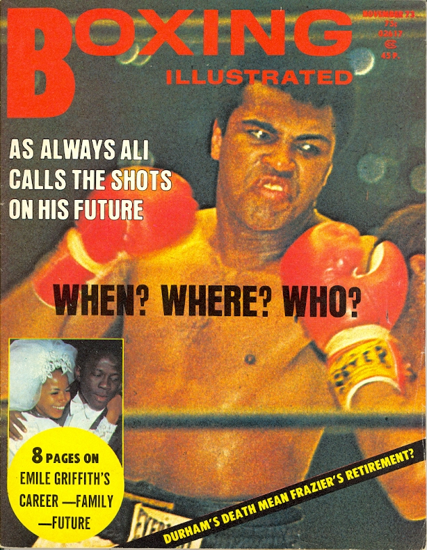 11/73 Boxing Illustrated
