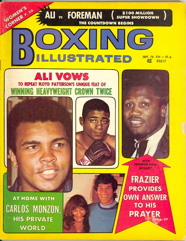 09/74 Boxing Illustrated