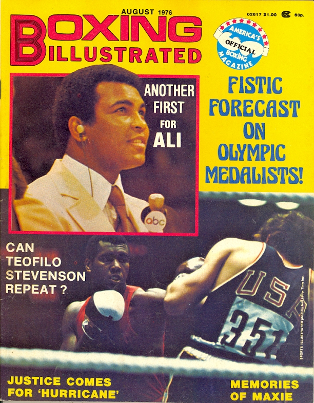 08/76 Boxing Illustrated