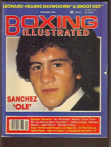 12/81 Boxing Illustrated