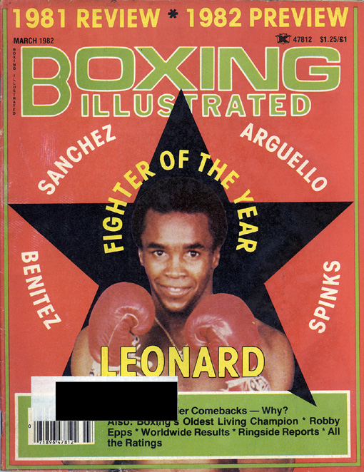 03/82 Boxing Illustrated