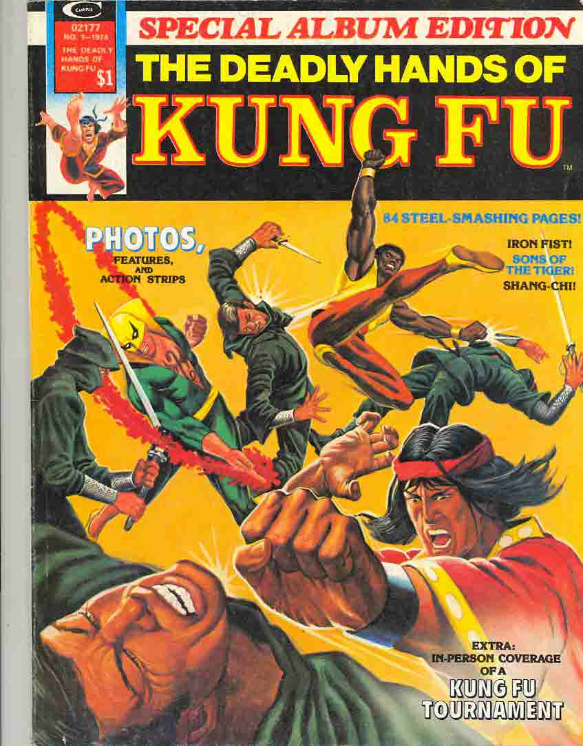 Summer 1974 The Deadly Hands of Kung Fu Special Album Edition