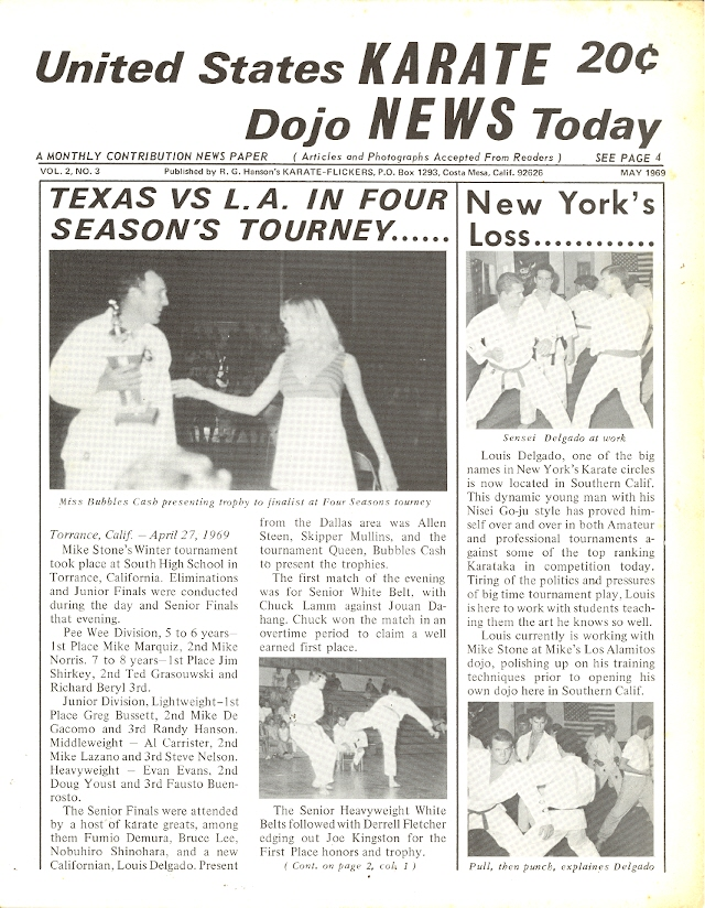 05/69 United States Karate Dojo News Today Newspaper