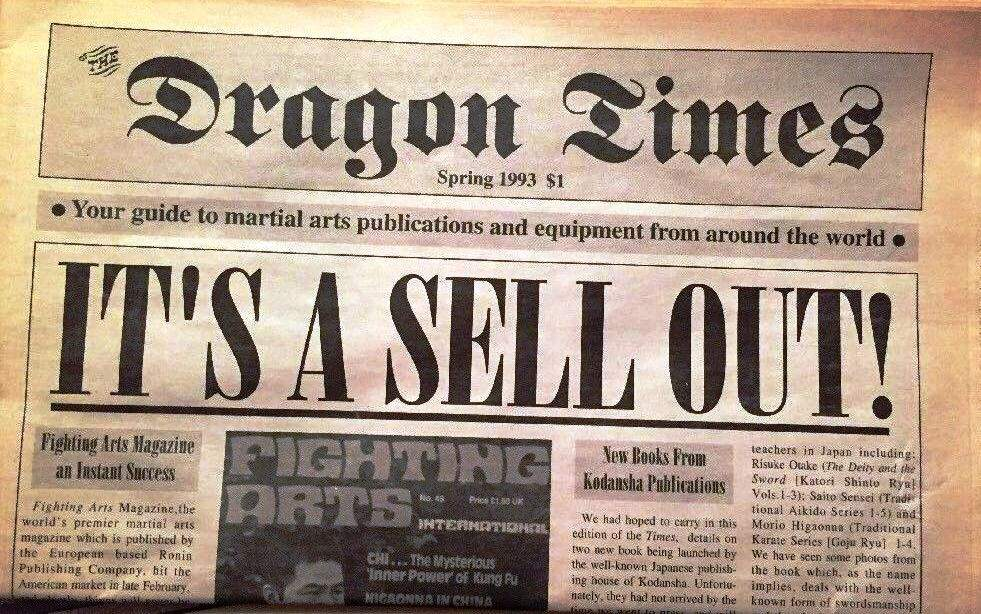 Spring 1993 Dragon Times Newspaper