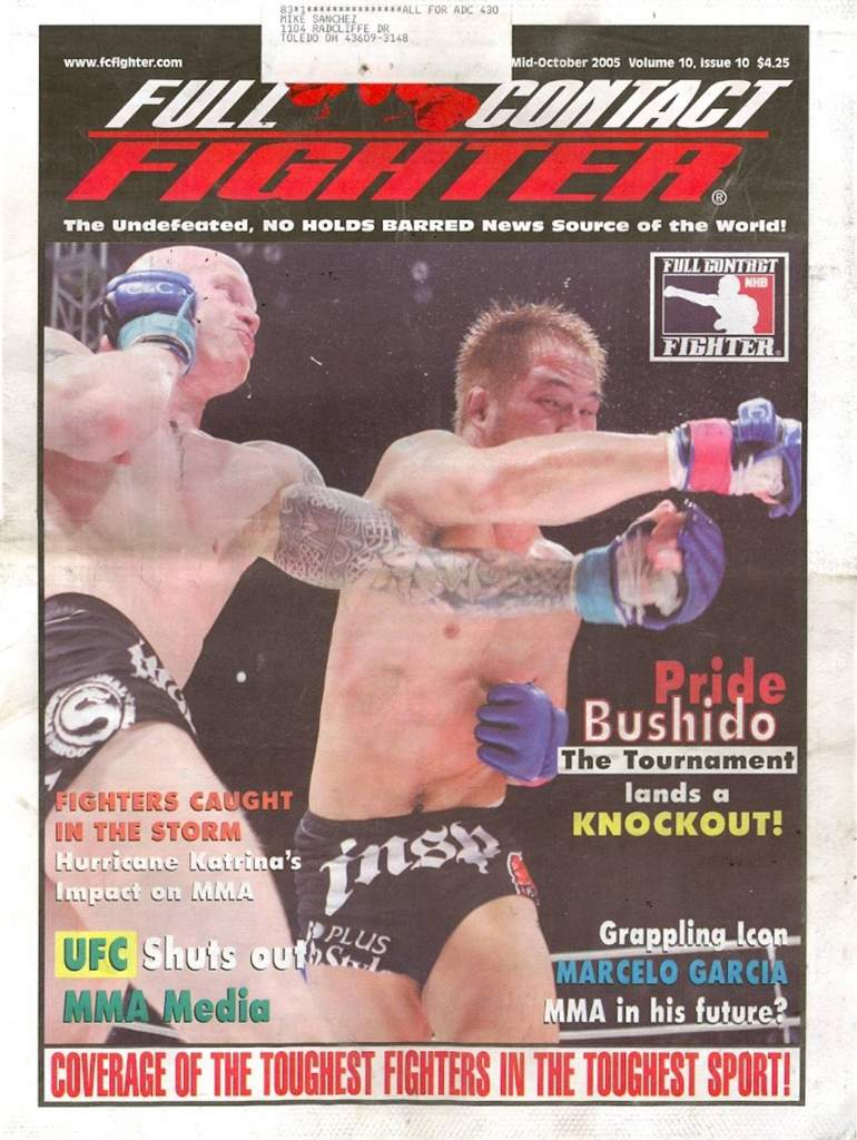 10/05 Full Contact Fighter Newspaper