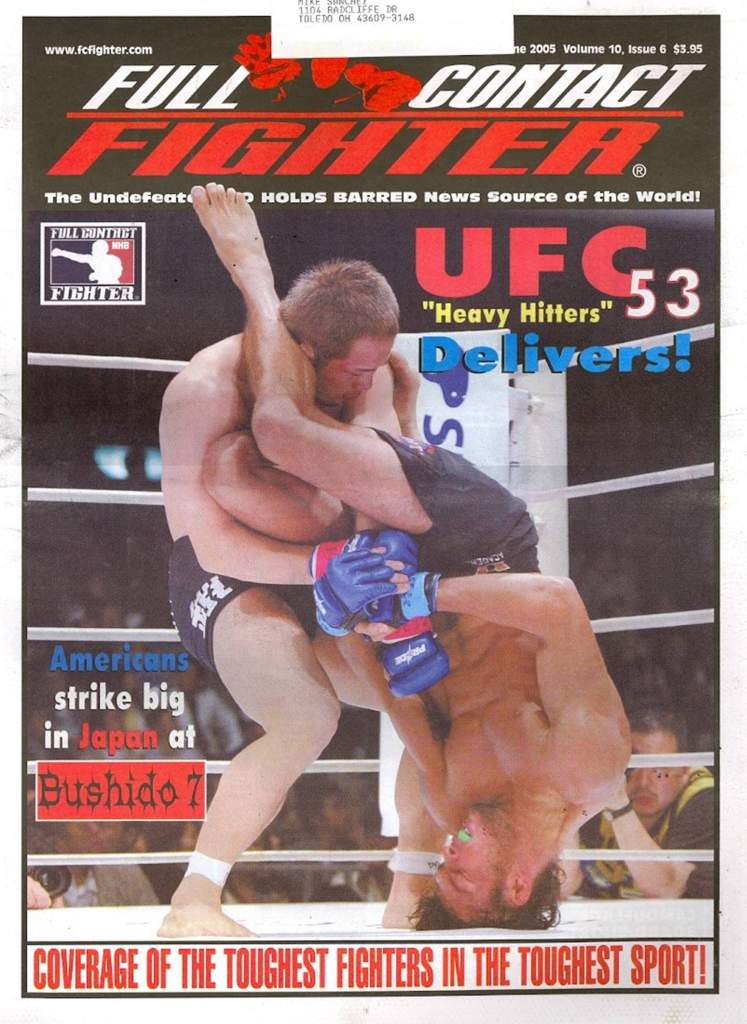 06/05 Full Contact Fighter Newspaper