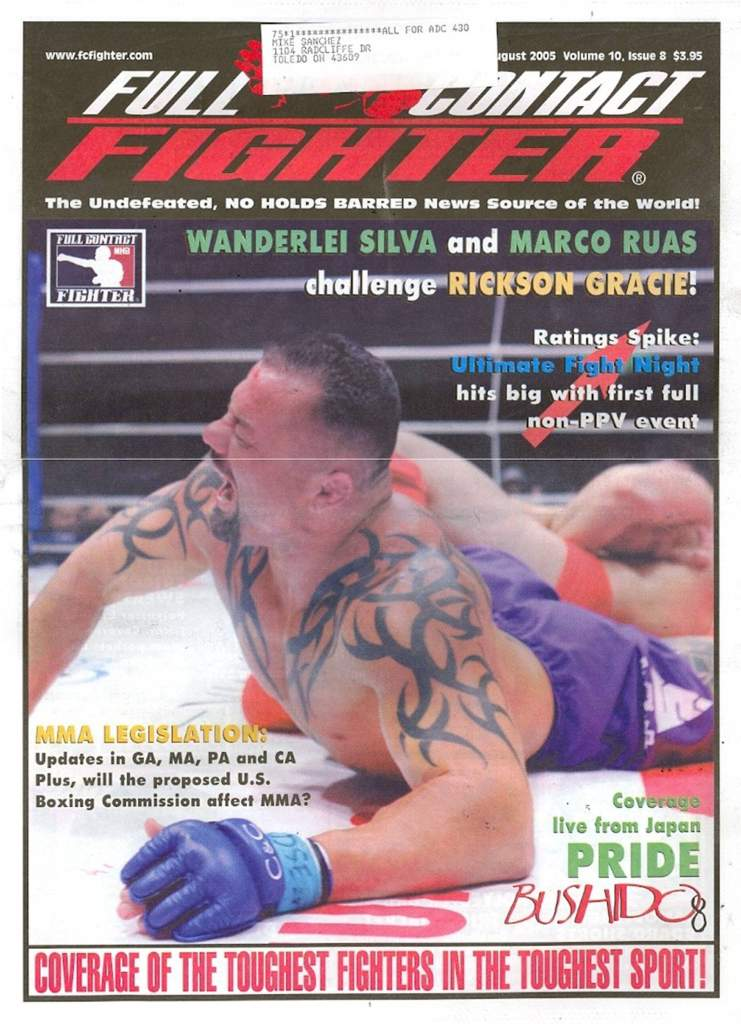08/05 Full Contact Fighter Newspaper