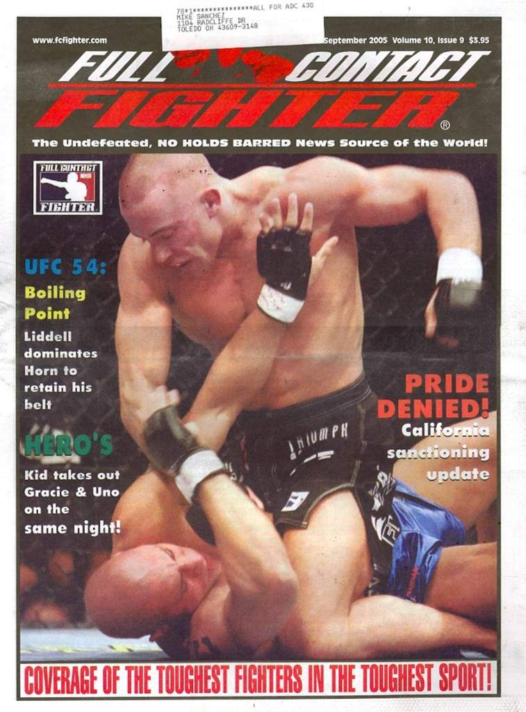 09/05 Full Contact Fighter Newspaper