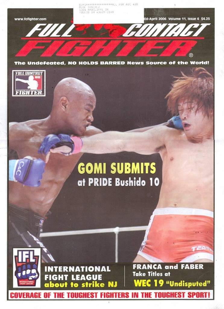 04/06 Full Contact Fighter Newspaper