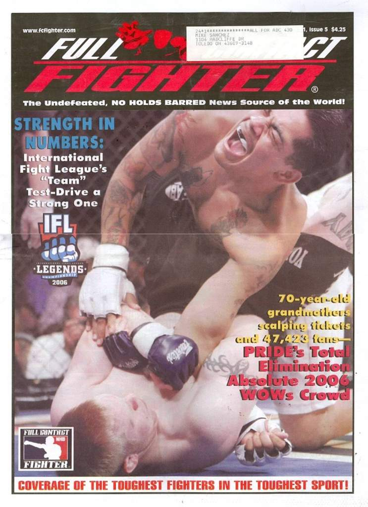 05/06 Full Contact Fighter Newspaper