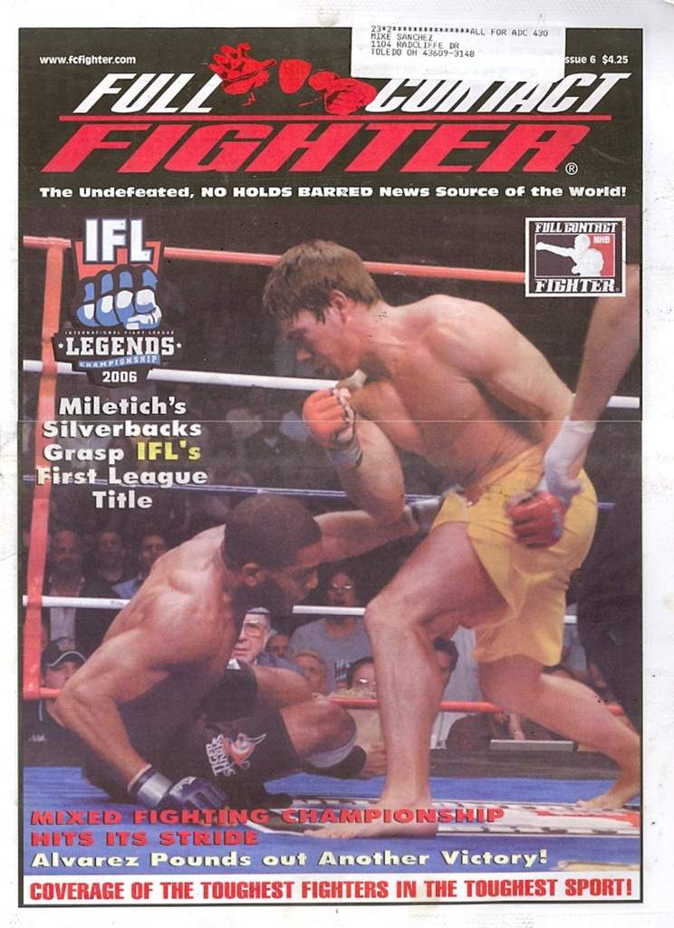 06/06 Full Contact Fighter Newspaper