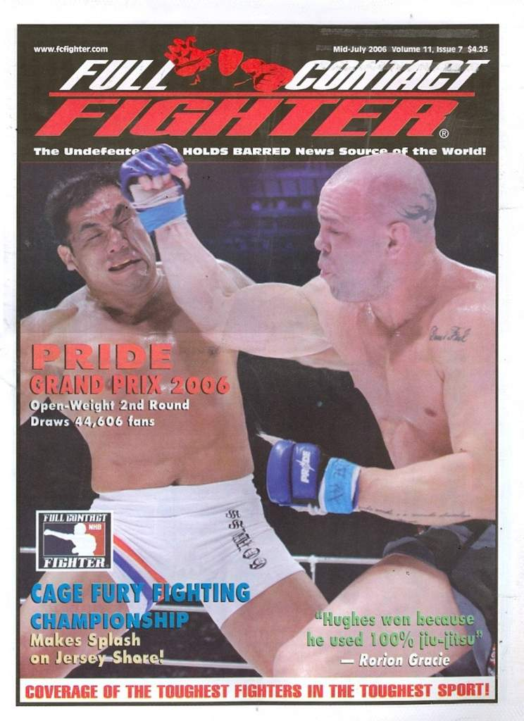 07/06 Full Contact Fighter Newspaper