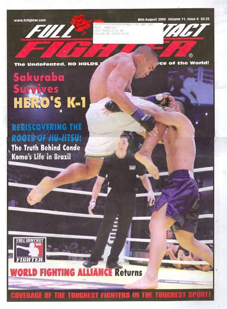 08/06 Full Contact Fighter Newspaper
