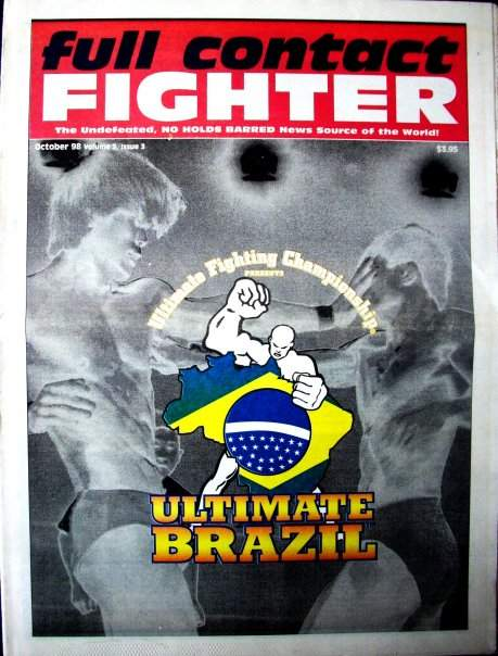 10/98 Full Contact Fighter Newspaper