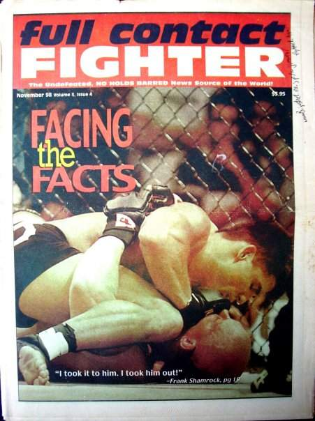 11/98 Full Contact Fighter Newspaper