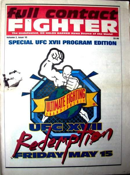 1998 Full Contact Fighter Newspaper