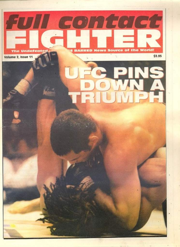06/98 Full Contact Fighter Newspaper