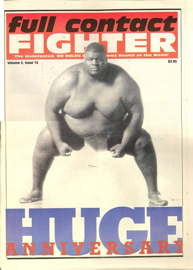07/98 Full Contact Fighter Newspaper