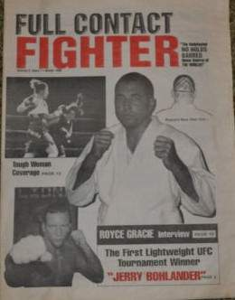 Winter 1998 Full Contact Fighter Newspaper