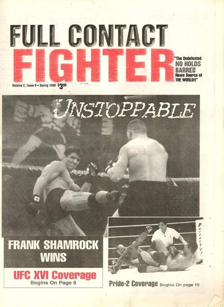 Spring 1998 Full Contact Fighter Newspaper