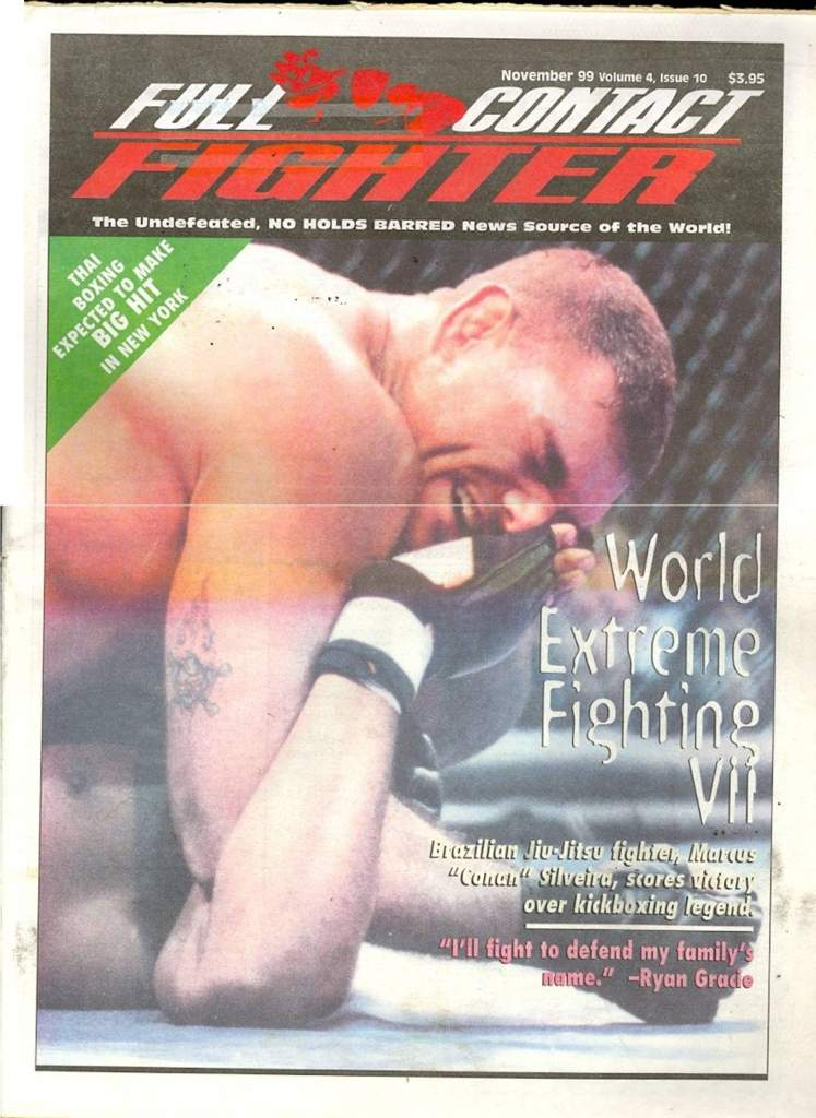 11/99 Full Contact Fighter Newspaper