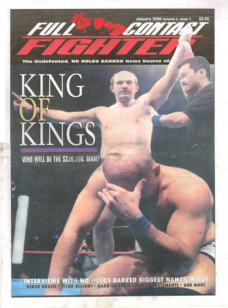 01/00 Full Contact Fighter Newspaper