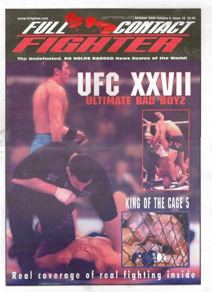 10/00 Full Contact Fighter Newspaper