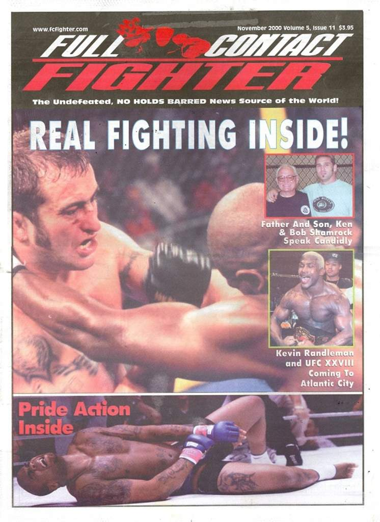11/00 Full Contact Fighter Newspaper
