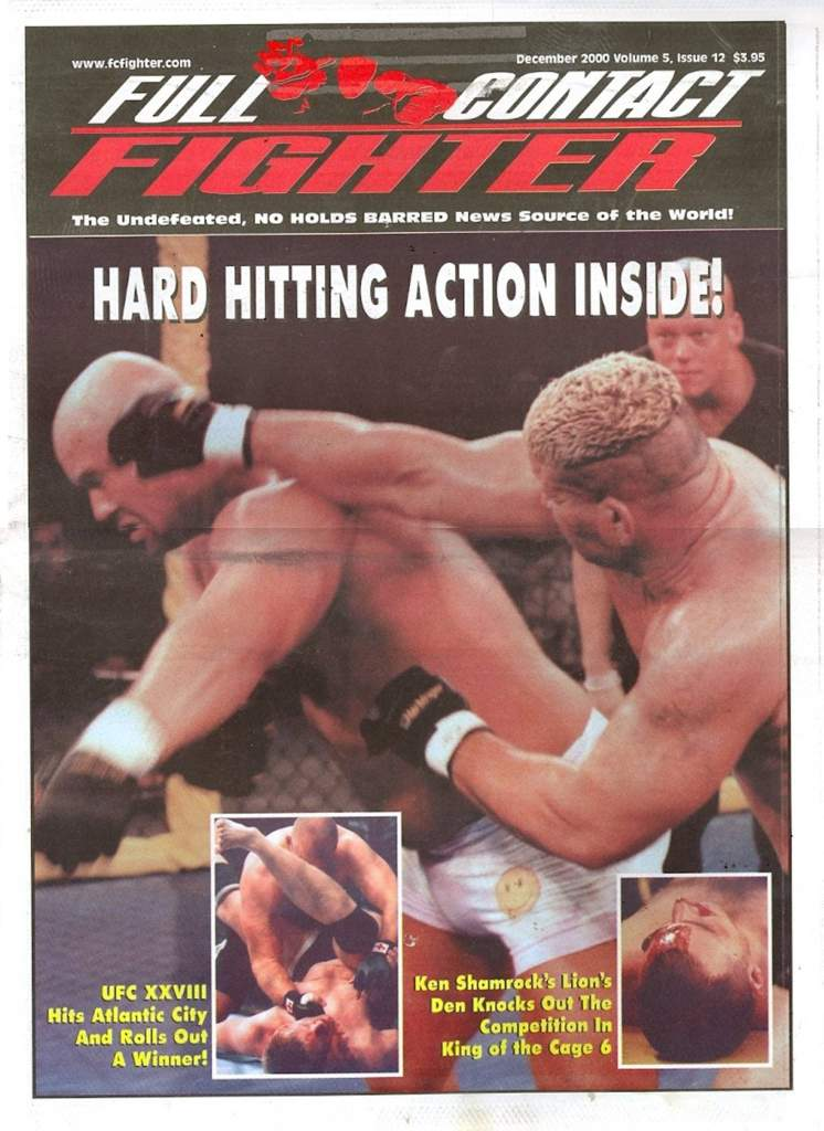 12/00 Full Contact Fighter Newspaper